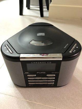 Pure Chronos CD and DAB radio player