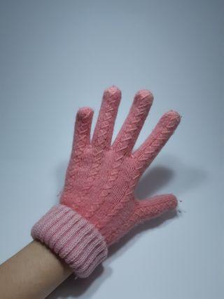 🚚 粉紅手套