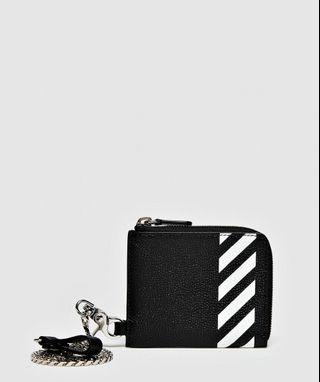 OFF-WHITE chain wallet* 3 models