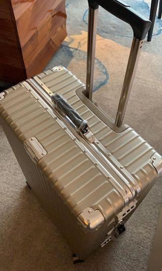Imported Champagne Travel check in Luggage
