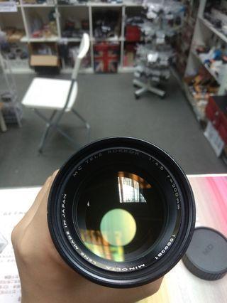 Nikon Zoom-Nikkor.C Auto 80-200mm f4.5 lens 手動鏡頭