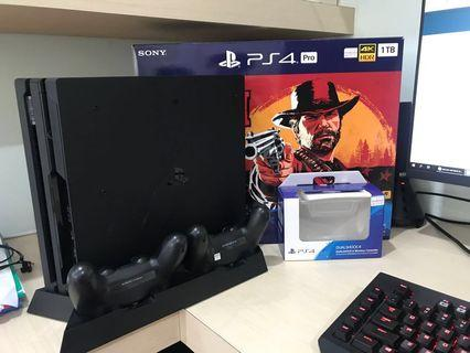 PS4 PRO RED DEAD REDEMTION 2 BUNLE