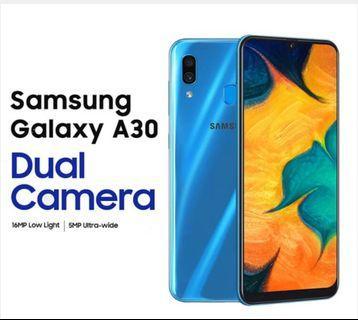 Samsung A30 with FOC BT selfie stick