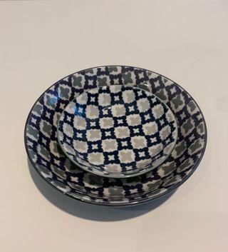 2 ceramic bowl Franc Franc