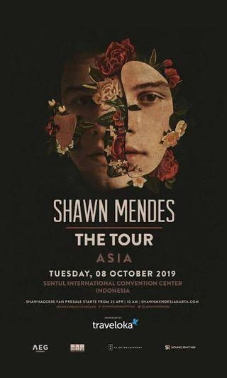 Category 4B seat/row II/10, Shawn Mendes Concert 2019 at SICC, Jakarta