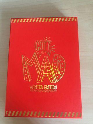 🚚 GOT7 Mad Album - Winter Edition