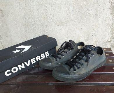 Converse ct low fullblack