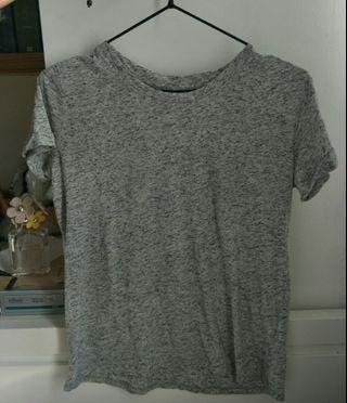 - Bershka - Grey Top