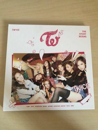 🚚 Twice The Story Begins Album (Ooh Ahh)