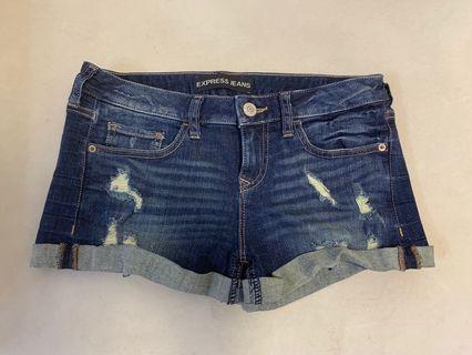 Express Jeans denim shorts