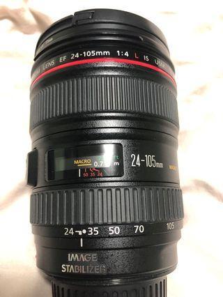 Canon 24-105 f4 . OL IS USM