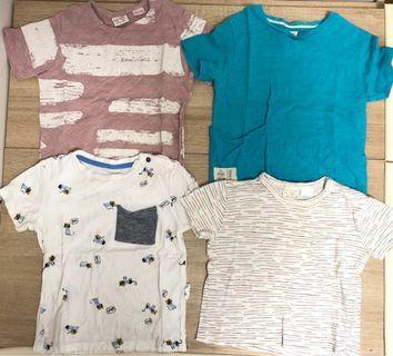 包郵 5件 BB 短袖衫 T恤 polo shirt 18-24m