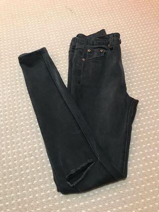 INSIGHT DENIM black skinny jeans