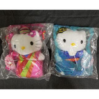Hello Kitty 愛在韓國 公仔