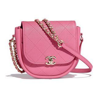 Brand New Chanel Messenger Bag in Pink