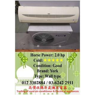 2HP York Wall Type Air Conditioner