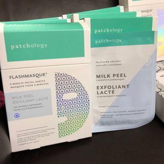 Patchology milk peel mask