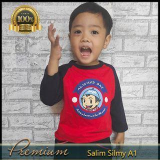 BAHAN PREMIUM Baju Anak Laki Cowo Muslim Design Lucu