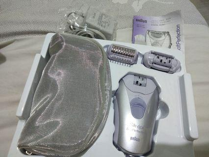 100v Braun Silk Épil Soft Perfect Epilator and Shaver (From Japan)