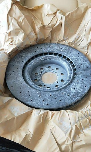 Honda Civic Type R Disc Rotor, Genuine Part, Made In Italy. Model:FK8. ( FOR FK8 ONLY )