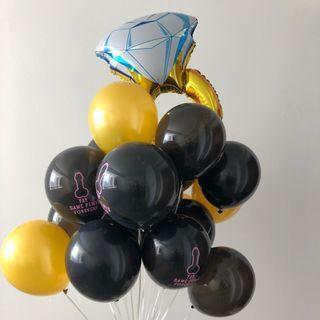 Hen's Night Balloons! #01013