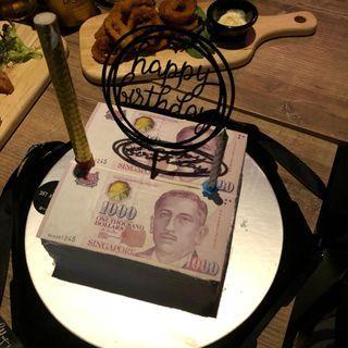 Money Cake #01014