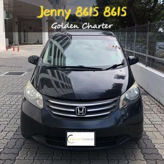 Honda Freed 1.5a 5seater *SAVE PETROL*  Toyota Vios Wish Altis Car Axio Premio Allion Camry Estima Honda Jazz Fit Stream Civic Cars Hyundai Avante Mazda 3 2 For Rent Lease To Own Grab$50 perday Rental Gojek Or Personal Use Low price and Cheap