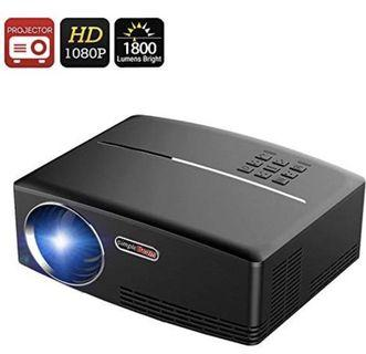 (2847) Generic ViviBright GP80 Portable Projector - 1800 Lumen, 40 To 135 Inch Projection, HDMI, Stereo Speaker, 1080P Support