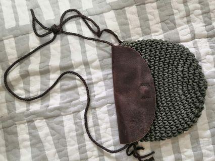 織皮小手袋