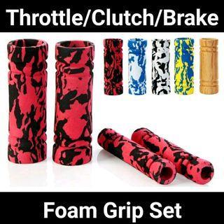 Throttle lever gripset foam