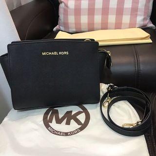 Preloved Michael Kors Selma Messenger