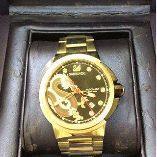 Swarovski 施華洛世奇限量版水晶機械錶