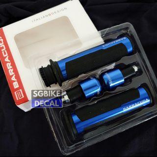 Handle Grip blue cnc