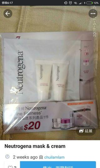 Neutrogena mask & cream
