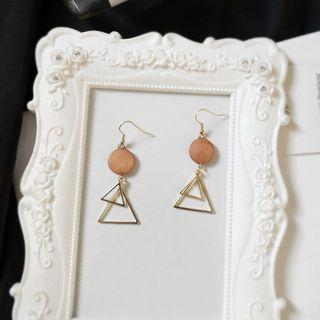 (Clip On) Cypre Geometry Earrings