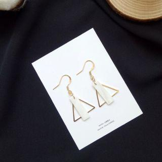 Vit's Marble Geometry Earrings