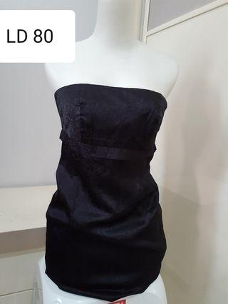 #mauthr dress hitam kemben