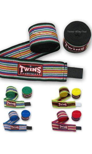 bfd7c5ea9c9fb5 Muay thai Handwraps / Boxing handwrap Twins special