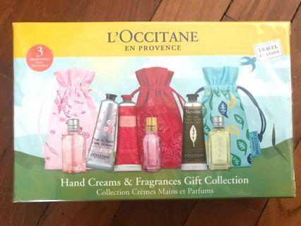 L'Occitane Hand Creams and Fragrances Gift Collection