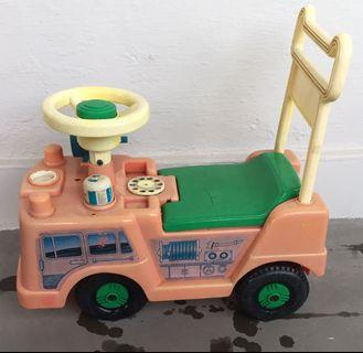 Free ride on car for kids