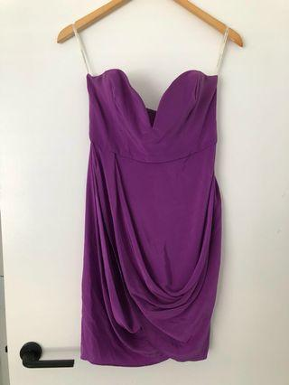 Zimmermann silk drape dress