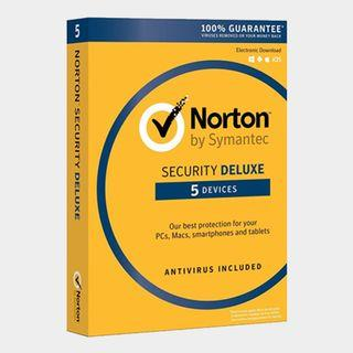 [3 Years] Norton Security Deluxe 2019