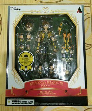 Bring Arts Sora Kingdom Hearts III (Guardian Form) Figure