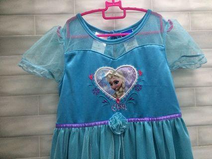 Frozen Dress 7-9y