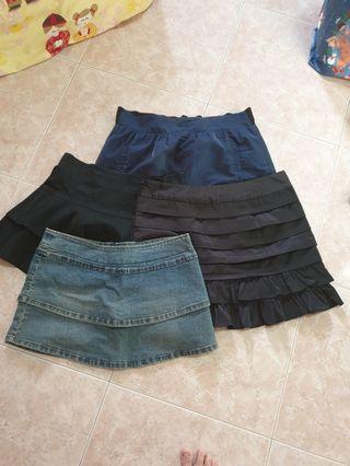 🚚 Preloved skirts