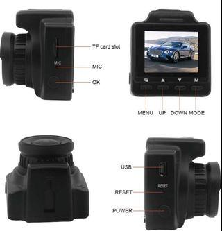 (2855) Wifi Dash Cam, Drivsong MINI Dash Camera for Cars, 1.5'' LCD Screen, Full HD 1080P DVR Dash Cam with 150° Wide Angle, G-Sensor and Loop Recording