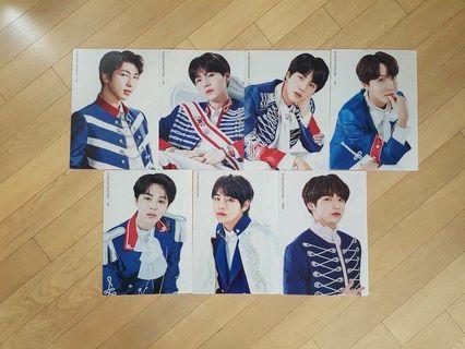 (WTS) Official BTS Clear Poster (Set)