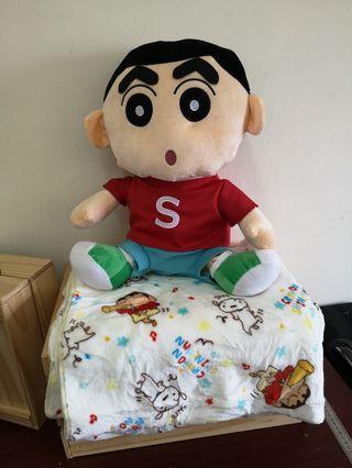 Sinchan Pillow Blanket 蜡笔小新枕头被 (44cm)