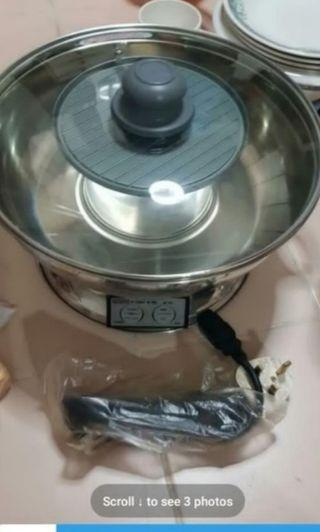 Stainless Steel steamboat pot