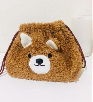 🚚 全新可愛熊熊🐻收納袋 化妝包 寶寶用品
